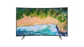 "Samsung 55"" UE55NU7302 4K UHD LED TV, Curved, SMART, 3840x2160 HDR, 1400 PQI, Dolby Digital Plus, DVB-T2C, LAN, WI-FI, 3xHDMI, 2xUSB, Charcoal Black"