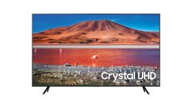 "Samsung 55"" 55TU7072 4K UHD LED TV, SMART, Crystal Processor 4K, 2000 PQI, HDR 10+, Mega Contrast, Dolby Digital Plus , 2xHDMI, USB, WiFi, Bluetooth, Tizen, Black"