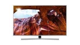 "Samsung 65"" 65RU7472 4K UHD 3840 x 2160 LED TV, SMART, Apple AirPlay 2, HDR 10+, 2000 PQI, Dolby Digital Plus, DVB-T2CS2, WI-FI, 3xHDMI, 2xUSB, Silver"