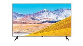 "Samsung 82"" 82TU8072 4K Crystal UHD LED TV, SMART, Dual LED, 2100 PQI, Mega Contrast, HDR 10+, Crystal Processor 4K, Dolby Digital Plus, Bixby, AirPlay 2, DVB-T2CS2, WI-FI, 3xHDMI, 2xUSB, Bluetooth, Frameless, Black"