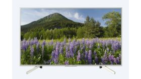 "Sony KD-43XF7077 43"" 4K HDR TV BRAVIA, Edge LED with Frame dimming, Processor 4K X-Reality PRO, Dynamic Contrast Enhancer, Browser, YouTube, Netflix, Apps, XR 400Hz, DVB-C / DVB-T/T2 / DVB-S/S2, USB, Silver"
