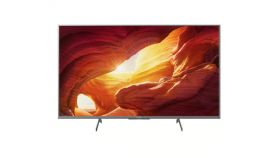 "Sony KD-49XH8577 49"" 4K HDR TV BRAVIA, Edge LED , 4K HDR Processor X1,Triluminos,XR 1000Hz,Dolby Atmos, DVB-C / DVB-T/T2 / DVB-S/S2, USB, Android TV, Voice Remote, Silver"