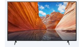 "Sony KD-55X81J 55"" 4K HDR TV BRAVIA , Direct LED, Processor X1™, Triluminos PRO, XR 400Hz, X-Balanced Speaker, Dolby Atmos, DVB-C / DVB-T/T2 / DVB-S/S2, USB, Android TV, Google TV, Voice remote RMF-TX520E, Black"
