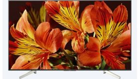"Sony KD-55XF8596 55"" 4K HDR TV BRAVIA Triluminos, Edge LED with Frame dimming, Processor X1, Android TV 7.0, XR 1000Hz, DVB-C / DVB-T/T2 / DVB-S/S2, Voice Remote, USB, Black"