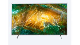 """Sony KD-55XH8077 55"""" 4K HDR TV BRAVIA, Direct LED with Frame dimming, 4K HDR Processor X1, Triluminos, XR 400Hz, X-Balanced Speaker, Dolby Atmos, DVB-C / DVB-T/T2 / DVB-S/S2, USB, Android TV, Voice Remote, Silver"""