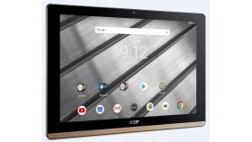 """Acer Iconia B3-A50FHD-K0AC, 10.1"""" FHD IPS (1920x1200), MTK MT8167A Quad Cortex A35 (1.50 GHz), 2GB DDR4, 32GB eMMC, 2MP&5MP Cam, 802.11ac, BT 4.1, GPS, Android 8.1 Oreo, Black&Gold + Transcend 32GB microSD"""