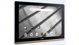 """Acer Iconia B3-A50FHD-K0AC, 10.1"""" FHD IPS (1920x1200), MTK MT8167A Quad Cortex A35 (1.50 GHz), 2GB DDR4, 32GB eMMC, 2MP&5MP Cam, 802.11ac, BT 4.1, GPS, Android 8.1 Oreo, Black&Gold"""