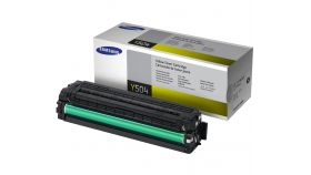 Samsung CLT-Y504S Yellow Toner Cartridge