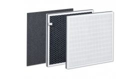 LR 500 replacement set - Prefilter; Combi filter (EPA + activated carbon); Compatible with the Beurer LR 500 air purifie