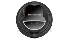 Rowenta RR7145WH SMART FORCE EXTREME, Hardwood flooring & cleaning carpets; Rotating central brush, 4 cleaning modes, 6 drip sensors, Runtime up to 150 min; Charging time 4 h; Charging station; remote control; Container 0.25 L; 70 dB; DARK GREY