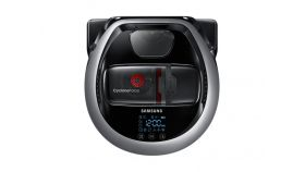 Samsung VR20M707HWS/GE Vacuum Cleaner Robot, Suction Power 20W,Cyclone Force,  Visionary Mapping System, Virtual Guard, Bagless Type, LED Display, Remote control, Wi-FI
