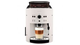 Krups EA810570, Espresseria Automatic Manual, Coffee machine, 1450W, 15 bar, white