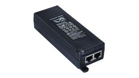 HP Single-Port 802.3at Gigabit PoE In-Line Power Supply