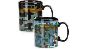 Чаша Paladone Minecraft XL Heat Change Mug