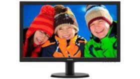 "Monitor Philips 23.6"" TN WLED, 1920x1080@60Hz, 170/160, 1ms, 250cd/m2, VESA, VGA, HDMI, DVi, 3 years warranty"