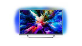 "Philips 49"" UHD 4K, DVB T/C/T2/T2-HD/S/S2 Android TV, Ambilight 3, Quad Core, 16 GB, DTS-HD Premium Sound 25W, Ultra, Micro Dimming Pro, 1700 PPI"