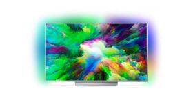 "Philips 49"" UHD 4K TV, Android, Quad Core,16 GB, Micro Dimming Pro, 1700 PPI, DTS-HD Premium Sound, 20W, DVB T/C/T2/T2-HD/S/S2"