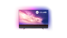 """Philips 50"""" 4K UHD LED Android TV с 3-странен Ambilight, 2100 Picture Performance Index HDR 10+ Видео процесор P5 Perfect Picture, Bowers & Wilkins вграден звуков панел, Dolby Vision, Dolby Atmosр DVB-T/T2/T2-HD/C/S/S2, Изкуствен интелект с гласово у"""