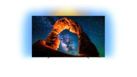 "Philips 55"" OLED 4K UHD LED Android TV,  Ambilight 3, 4500 PPI, HDR perfect WCG 99%, P5 Perfect Picture Processor"