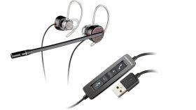 Професионална слушалка Plantronics Blackwire C435 - Wideband USB / 85800-05