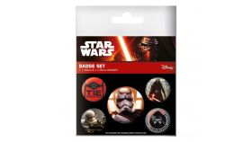Значки Pyramid International - Star Wars - Episode VII First Order Pin Badge Pack