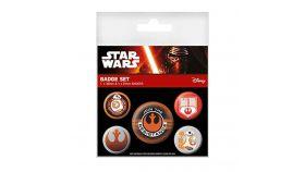 Значки Pyramid International - Star Wars - Episode VII Resistance Pin Badge Pack