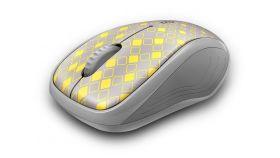 Безжична оптична мишка RAPOO M280 Silent, Multi-mode, безшумна, свтло сив