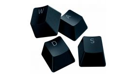 Razer PBT Keycap Upgrade Set - Classic Black, Superior PBT Material, Doubleshot Molding With Ultra-Thin Font, Works With Popular Keyboard Layouts, Fits all Razer mechanical and optical keyboards