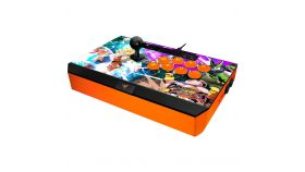 Razer Dragon Ball FighterZ Razer Panthera Arcade Stick for PS4, 10 buttons and an 8-way joystick, Fully mod-capable, Authentic Sanwa joystick with ball top, Honeycomb structure on the inside for easy screw mounting,3 m detachable screw-lock USB cable