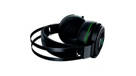 Razer Thresher Ultimate for Xbox One, Razer HyperSense, THX Spatial Audio, Cooling Gel-Infused Cushions, Frequency response: 20 Hz – 20 kHz, Impedance: 32? at 1 kHz, Up to 16 hrs battery life, Drivers: 50 mm, with Neodymium Magnets