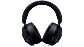 Razer Kraken Pro V2 BLACK - Analog Gaming Headset,50 mm audio drivers ,Unibody aluminum frame ,Fully-retractable microphone with in-line remote,3.5 mm combined jack.
