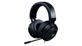 Razer Kraken Pro V2 GREEN - Analog Gaming Headset, 50 mm audio drivers, Unibody aluminum frame, Fully-retractable microphone with in-line remote, 3.5 mm combined jack.