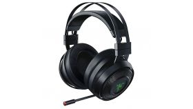 Razer Nari Gaming Wireless Headset,THX Spatial Audio,Cooling Gel-Infused Cushions,Game/Chat Balance,Razer Chroma,Frequency response: 20 Hz-20 kHz,50 mm, with Neodymium magnets