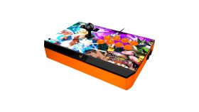 Razer Dragon Ball FighterZ Razer Atrox Arcade Stick for Xbox One, 8 tournament-grade Sanwa buttons, Authentic Sanwa joystick, Honeycomb structure on the inside for easy screw mounting, 3 m detachable screw-lock USB cable for secure connection