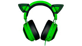 Kitty Ears for Razer Kraken, Engineered to purr-fectly fit your Razer Kraken, Adjustable design for different looks, Sturdy and waterproof for worry-free use, Striking unique design to jazz up your Razer Kraken, Green