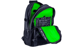 """Razer Rogue 15 Backpack V3, Black, Tear- and water-resistant exterior, TPU padded scratch proof interior, Dedicated laptop compartment, Fits most laptops up to 15"""", 460 mm x 320 mm x 170 mm, 100% Polyester"""