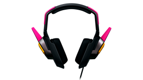 D.Va MEKA Headset Large neodymium drivers for crystal-clear audio and communication, Leatherette cushions for comfortDiscreet omnidirectional mic and inline controls,Multi-platform compatibility