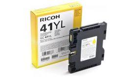 Касета с мастило гел RICOH Yellow Gel Yield GC 41YL ,600 копия,405768, SG2100N