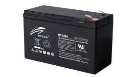 Оловна Батерия (RT1290) AGM 12V / 9Ah  - 151 / 65 / 94 mm терминал2 RITAR