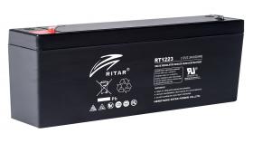 Оловна Батерия RITAR (RT1223); 12V / 2.3Ah  AGM 177/35/62 mm