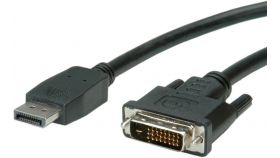 ROLINE 11.99.5612 :: VALUE кабел, DisplayPort M - DVI M, 5.0 м