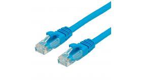 ROLINE 21.99.1064 :: VALUE UTP кабел Cat.6 (Class E), halogen-free, син цвят, 5.0 м