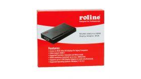 ROLINE 12.02.1034 :: USB 3.0 видео адаптер, HDMI, 4K2K, черен цвят