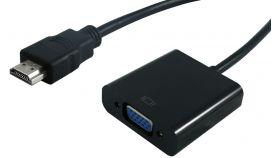ROLINE S3200-10 :: VALUE HDMI M към VGA F видео конвертор