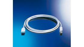 ROLINE S3103-100 :: USB 2.0 кабел, Type A-B, 3.0 м