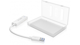RAIDSONIC IB-AC603 :: USB 2.0 адапторен кабел за 2.5'' SATA дискове, със защитна кутия