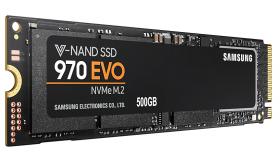 SSD диск Samsung 970 EVO Series 500 GB 3D V-NAND Flash MZ-V7E500BW