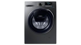 Samsung WW80K44305X/LE, Washing Machine, 8kg, 1400 rpm, LED, A+++, ADD WASH, Inox