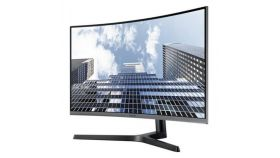 "Monitor Samsung C27H800F Curved 27"" LED, Full HD (1920x1080), Brightness: 250cd/m2, Contrast: 3000:1, Response time: 5ms, Viewing Angle: 178°/178° , 1xHDMI, DP, USB C, Dark Silver"