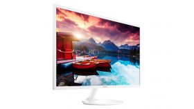 "Monitor Samsung S32F351F 31.5"" LED, Full HD (1920x1080), Brightness: 250cd/m2, Contrast: 5000:1, Response time: 5ms, Viewing Angle: 178°/178° , 2хHDMI, Glossy White"
